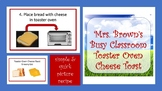 Picture Recipe:  Toaster Oven Cheese Toast
