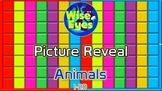 Picture Reveal Game ~ Animals ~ PPT