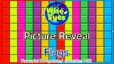 Picture Reveal Game ~ Flags ~ PPT