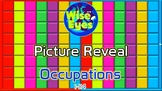Picture Reveal Game ~ Occupations ~ PPT