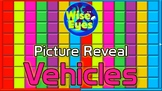 Picture Reveal Game ~ Vehicles ~ PPT