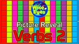 Picture Reveal Game ~ Verbs 2 ~ PPT