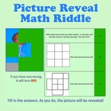 Picture Reveal Math Riddles