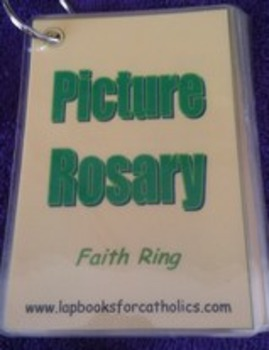 Picture Rosary Faith Ring Flashcards
