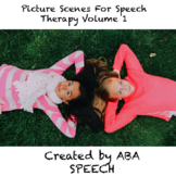 Picture Scenes For Speech Therapy, Volume 1