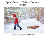Picture Scenes For Speech Therapy: Winter Edition