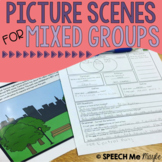Picture Scenes for Mixed Groups