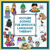 Picture Scenes for Speech & Language Therapy