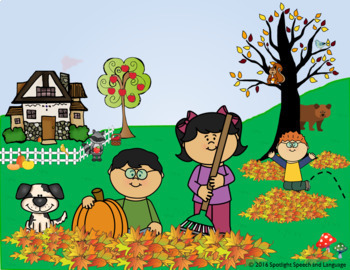 Picture Scenes for Speech & Language Therapy - FREE SAMPLE ...
