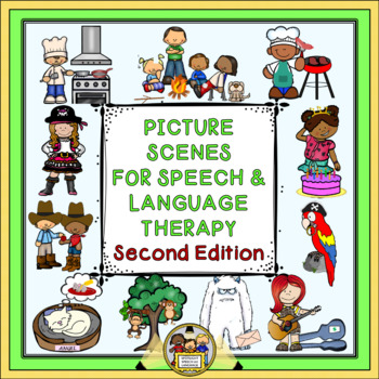 Picture Scenes for Speech & Language Therapy - Second Edition