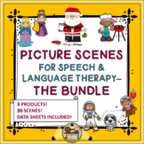 Picture Scenes for Speech Therapy - the Bundle