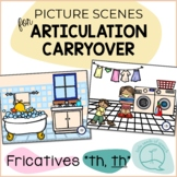 Fricatives TH - Picture Scenes for Targeting Speech Sounds