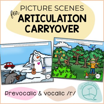 R & R Vowels - Picture Scenes for Targeting Speech Sounds in Conversations
