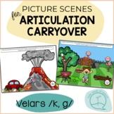 Velars K G - Picture Scenes for Targeting Speech Sounds in Conversations