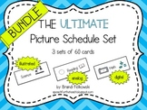 Picture Schedule - Bundle (3 Sets-- Analog, Digital, and Illustrated)