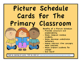 Picture Schedule For The Primary Classroom