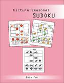 Picture Seasonal Sudoku : Puzzle Game Easy FUN!