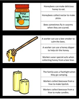 Picture/Sentence Comprehension- Honeybees