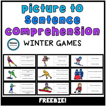 Picture/Sentence Comprehension- WINTER GAMES