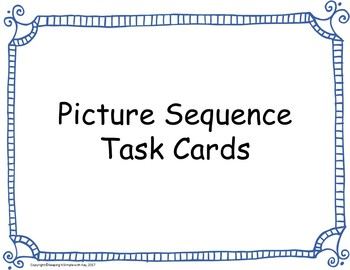 Picture Sequence Task Cards