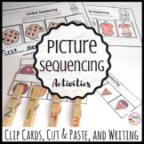Sequencing Picture Cards and Cut and Paste