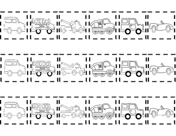 "Picture Sequencing Activity for ""My Truck is Stuck!""  FREEBIE!!"