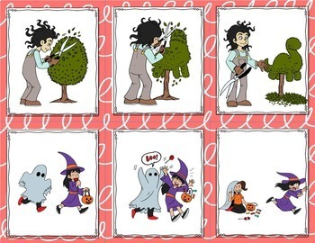 Story Sequencing Cards with Cut and Paste Sheets (3-Step and 4-Step Sequences)