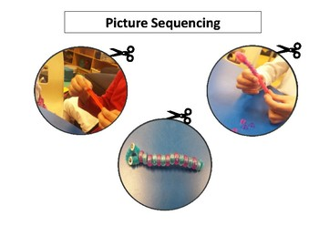 Picture Sequencing Cut and Paste Activity