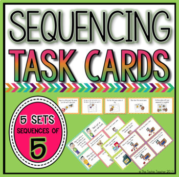 Picture Sequencing Task Cards BUNDLE