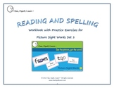 Picture Sight Words™ eWorkbook - by I See, I Spell, I Learn®