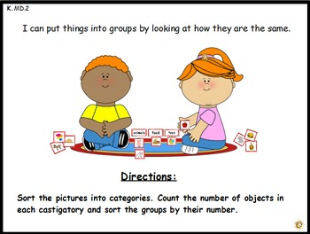 Picture Sort: A Math Center Activity (K.MD.3)