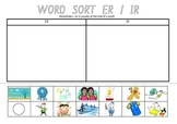 Picture Sort Cut n Paste: ER or IR