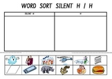Picture Sort Cut n Paste: SILENT H or H