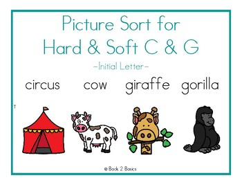 Hard & Soft C & G Picture Sort
