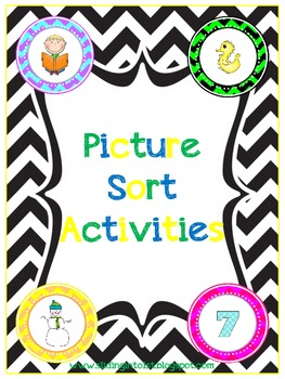 Picture Sorting Activities