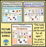 Category Picture Sorting Activities for Autism Bundle