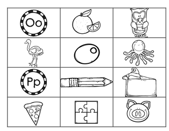 Sort Pictures For Beginning Sound