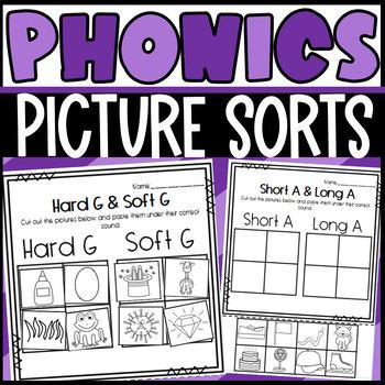 Picture Sorts Phonics Bundle!