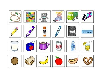 Speech/Language Picture Category Sorts for Young Learners