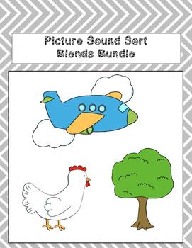 Picture Sound Sort Blends Bundle