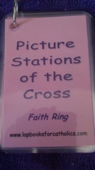 Picture Stations of the Cross Faith Ring Flashcards