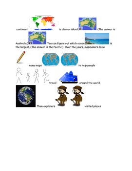 Picture Stories learning about the earth