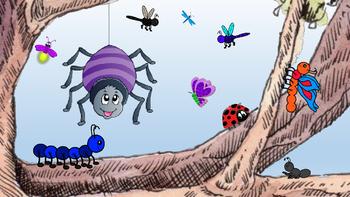 ~ FREEBIE ~ Picture Story Illustrations for La Arana Gorda--a Spanish TPR Story