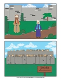 Picture Story Sequence of Jericho from Bible Home school Montessori Preschool