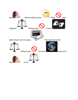 Picture Story Why do we need rules