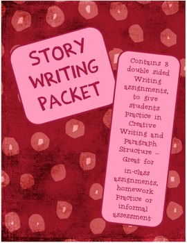 Picture Story Writing Packet - Creative Writing Practice