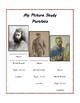 Picture Study Worksheets (Millet, Homer, van Gogh)