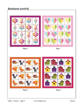 Picture Sudoku 4x4 Collection