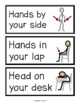 Picture Symbol Direction Cards-- Visual prompts for classr