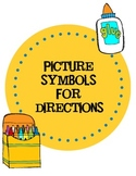 Picture Symbols for Directions